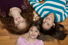 Três raparigas Foto de Stock Royalty Free