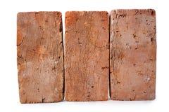 Três red-brick Fotos de Stock