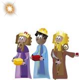 Três reis Foto de Stock