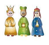 Três reis Fotos de Stock