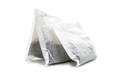 Três sacos de chá Foto de Stock