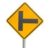 Três sinais separados Imagens de Stock Royalty Free