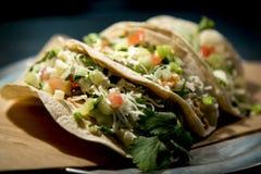 Três tacos Foto de Stock