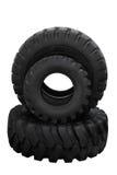 Três tampas do pneumático do trator Imagens de Stock Royalty Free