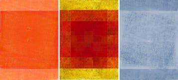 Três texturas encantadoras do fundo Fotos de Stock