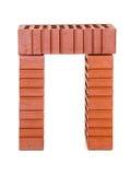 Três tijolos perfurados Fotografia de Stock Royalty Free