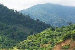 Três tons do Mountain View Imagem de Stock Royalty Free
