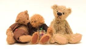 Três ursos Imagens de Stock
