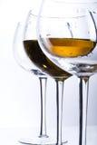 Três vidros Imagens de Stock Royalty Free