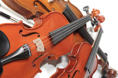 Três violinos Imagens de Stock