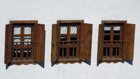 Três Windows foto de stock royalty free