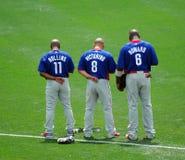 Trío de los all-stars de Phillies Fotografía de archivo