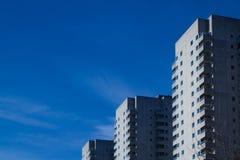 Tríos Rotterdam de la torre Imágenes de archivo libres de regalías