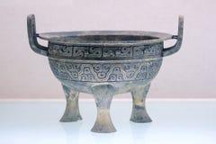 Trípode de bronce Imagenes de archivo