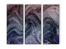 Tríptico abstracto Multi-entonado del fondo Imágenes de archivo libres de regalías