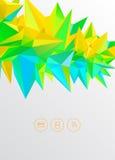Trójboków elementy Zdjęcie Royalty Free