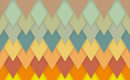 Trójboków szewronów art deco wzoru tło Obrazy Royalty Free