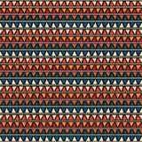 Trójbok płytki Bezszwowy wzór Obraz Stock