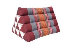 Trójbok poduszka tradyci rodzima Tajlandzka stylowa poduszka Obraz Stock