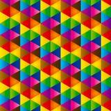 Abstrakcjonistyczny trójbok Fotografia Stock