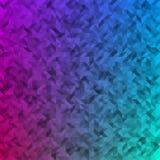 Trójboka barwiony abstrakcjonistyczny tło Fotografia Stock