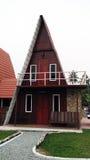 Trójboka dom obraz stock