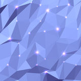 Trójboka Geometrical tło obraz royalty free