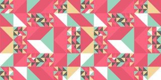 Trójboka kolorowy deseniowy tło dla moda tekstylnego druku Dobry dla poduszki, dywanu i koc okładkowego opakowania z modnym, ilustracji
