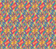 Trójboka kolorowy stylowy bezszwowy wzór ilustracja wektor