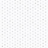 Trójboka wzór z złączonymi liniami i kropkami Obrazy Stock
