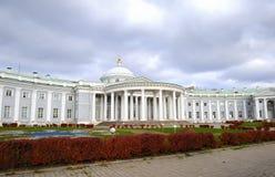 Trójca kościół przy Sheremetevs hospicjuma domem w Moskwa obrazy royalty free