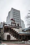 Trójca kościół w mieście Boston Zdjęcia Stock