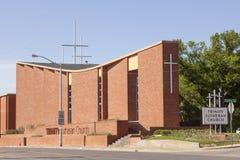 Trójca Luterański kościół w Fort Worth, TX, usa Zdjęcie Stock