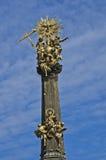 Trójca Pomnikowy Olomouc, czech repuplic obraz stock