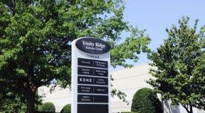 Trójcy grani centrum biznesu, Cordova, TN Fotografia Royalty Free