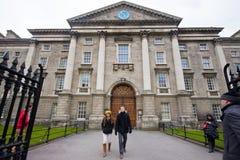 Trójcy szkoła wyższa Dublin Zdjęcia Stock