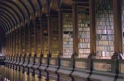 Trójcy szkoły wyższa biblioteka Dublin obraz stock
