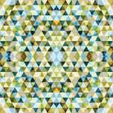 Trójgraniasta mozaika Kolorowy BackgroundÂŒ ilustracji