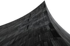trójgraniasty abstrakcjonistyczny budynek Zdjęcia Royalty Free