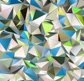 Trójgraniasty 3d, nowożytny tło Obraz Royalty Free