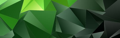 Trójgraniasty 3d, nowożytny tło Zdjęcie Royalty Free
