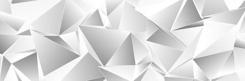 Trójgraniasty 3d, nowożytny tło obrazy royalty free