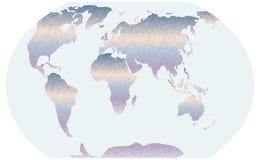 Trójgraniasty mapa gradient Fotografia Stock