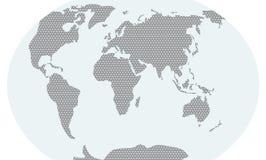 Trójgraniasty mapa poziom Zdjęcie Stock