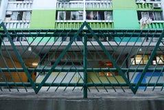 Trójgraniasty ogrodzenie Fotografia Stock