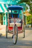 Trójkołowowie w ulicach Tajlandia obraz stock