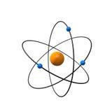 3d atom Zdjęcia Royalty Free