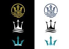 trójząb Obrazy Royalty Free