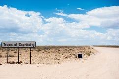 Trópico de Capricórnio, Namíbia, África fotos de stock