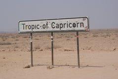 Trópico de Capricórnio, Namíbia fotos de stock royalty free